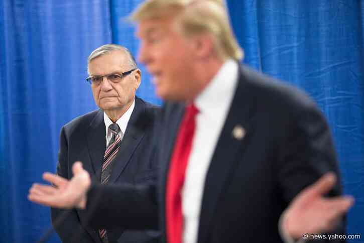 Trump Pardon Won't Remove Sheriff Joe Arpaio's Guilty Verdict