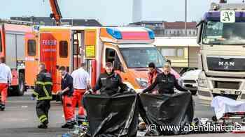 Prozess: Hamburger Dom: Beim Riesenrad-Abbau Mann mit Lkw überrollt