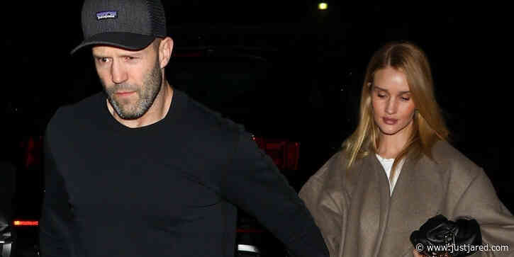 Jason Statham & Rosie Huntington-Whiteley Hold Hands on a Date Night Together in LA