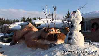Show us your snow sculptures and get into the spirit ahead of Capreol Winter Carnival