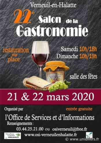 22e salon de la gastronomie Verneuil-en-Halatte 21 mars 2020 - Unidivers