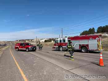 Parker Road Closed Northbound After Crews Hit Gas Pipe
