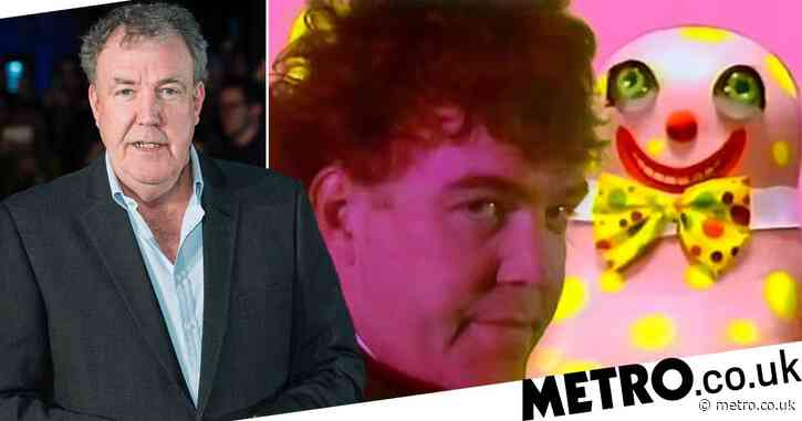 Remember when Jeremy Clarkson was Mr Blobby's chauffeur in 1993? What a time to be alive