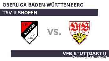 TSV Ilshofen gegen VfB Stuttgart II: Stuttgart will den Lauf ausbauen - t-online.de