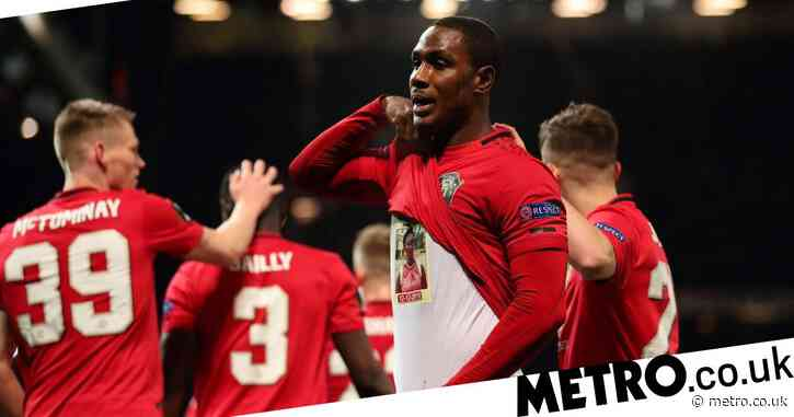 The tragic story behind Odion Ighalo's goal celebration after goal on full Manchester United debut