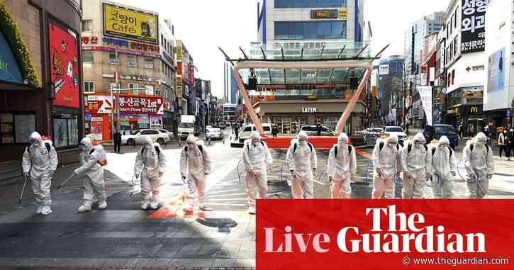 Japan closes schools as Saudi Arabia halts pilgrimages due to outbreak fears - as it happened