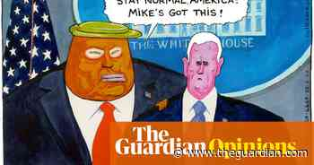 Steve Bell on Mike Pence leading US's coronavirus response – cartoon