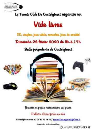 Vide livres – Dimanche 23 février Salle polyvalente Castelginest 23 février 2020 - Unidivers
