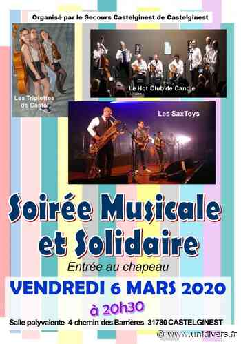 Soirée musicale – Vendredi 6 mars Salle polyvalente Castelginest 6 mars 2020 - Unidivers
