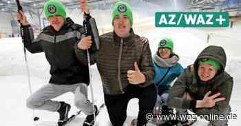 Behindertensport - Schüler trainieren für Special Olympics – aber Schnee ist Mangelware - Wolfsburger Allgemeine