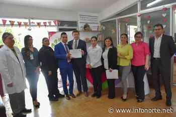 Visita Arcelia Flores, área oncológica del Hospital Infantil — InfoNorte.net - InfoNorte.net