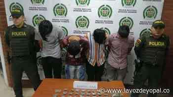 Capturados por tráfico de estupefacientes en Aguazul - Noticias de casanare - La Voz De Yopal