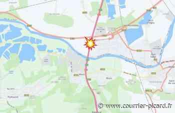 Accident sur l'A1 à hauteur de Villeneuve-Sous-Verberie, des bouchons signalés - Courrier Picard
