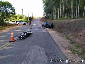 Triste! Motociclista morre ao colidir com carro em estrada de Jarinu - Itupeva Agora