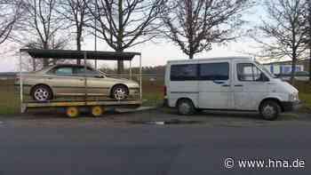 A4 bei Bad Hersfeld: Polizei stoppt rollenden Carport bei Kontrolle | Bad Hersfeld - HNA.de