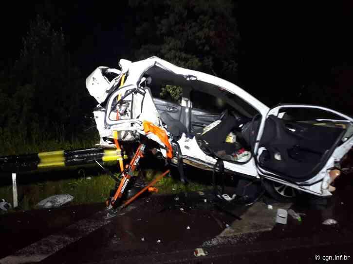 Tragédia: jovens de Dois Vizinhos morrem em acidente em SC - CGN