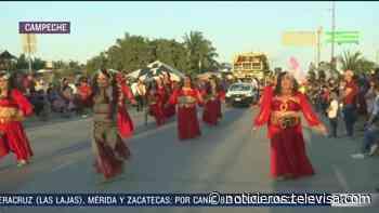 Termina carnaval en Ciudad del Carmen, Campeche; más de 50 mil personas asistieron - Noticieros Televisa