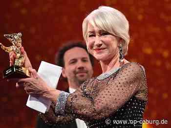Helen Mirren erhält Goldenen Ehrenbären für ihr Lebenswerk - Neue Presse Coburg
