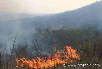 Varias viviendas en riesgo por incendio forestal en Tenjo, Cundinamarca - RCN Radio