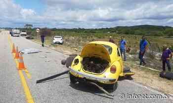 Idoso morre em acidente na rodovia SE-100 em Itaporanga D'Ájuda - Infonet