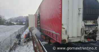 Vipiteno, camion a fuoco: A22 chiusa al traffico - Trentino