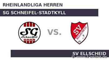 SG Schneifel-Stadtkyll gegen SV Ellscheid: Wird Schneifel-Stadtkyll seiner Favoritenstellung gerecht - t-online.de