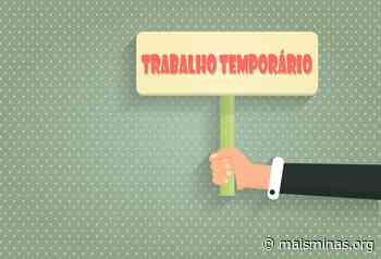 Empresa seleciona profissionais para vagas de trabalho temporário em Conselheiro Lafaiete - Mais Minas