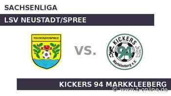 LSV Neustadt/Spree gegen Kickers 94 Markkleeberg: Heimmacht LSV Neustadt/Spree - t-online.de