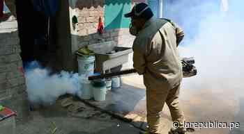 Lambayeque: continúa fumigación contra el dengue en Íllimo y Zaña [VIDEO] - LaRepública.pe