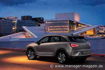 Zukunftstechnologie Brennstoffzelle: Hyundai überholt Toyota bei Wasserstoffautos - manager-magazin.de