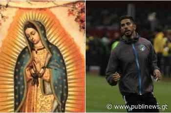 Gerardo Gordillo visita la capilla de la Virgen de Guadalupe en el estadio Azteca - Publinews Guatemala