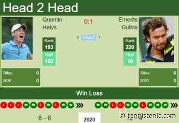 H2H. Quentin Halys vs Ernests Gulbis | Pau Challenger prediction, odds, preview, pick - Tennis Tonic