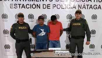 Detenidos por porte ielgal de armas en Nátaga - Diario del Huila
