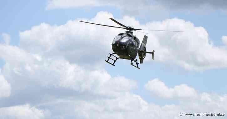 Reportan accidente de helicóptero de la FAC en Bojacá, Cundinamarca - http://www.radionacional.co/