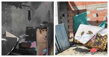 Una veladora genera un incendio en una vivienda en Ciénaga - Seguimiento.co
