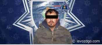 Cae con droga y arsenal en Santiago Papasquiaro - La Voz de Durango