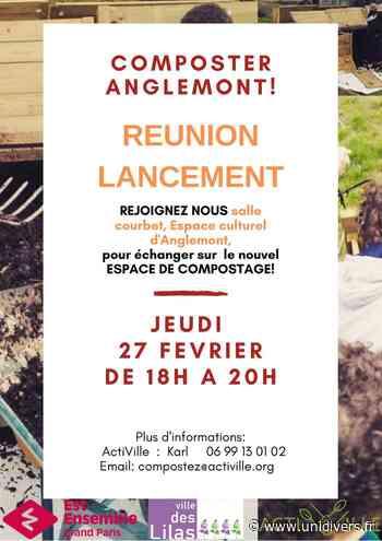 Reunion de Lancement Composteur Quartier Anglemont BIBLIOTHEQUE ANDRE MALRAUX Les Lilas 27 février 2020 - Unidivers