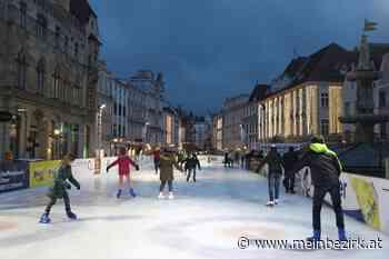 """""""Eis(en)Stadt Steyr"""": Stadt Steyr unterstützt Curling Club – Eislaufen am Stadtplatz bis 2023 fix - meinbezirk.at"""