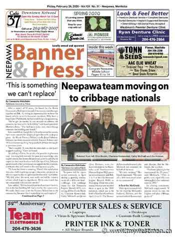 Friday, February 28, 2020 Neepawa Banner & Press - myWestman.ca