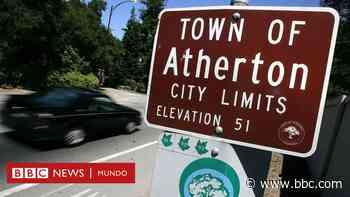 Atherton, el pueblo más rico de Estados Unidos donde la casa más barata vale US$2,5 millones - BBC News Mundo