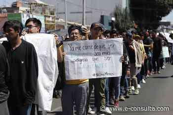 Juntan en Tlaxcalancingo víveres para el movimiento universitario - e-consulta