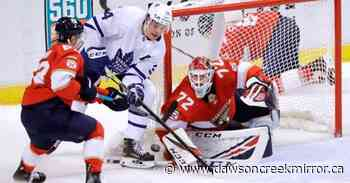 Nylander leads Maple Leafs over Panthers, 5-3 - Dawson Creek Mirror