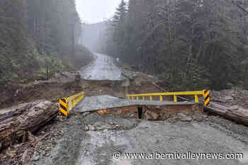 ACRD urges BC gov't to upgrade Bamfield Road in wake of winter storm - Alberni Valley News