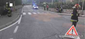 Paura a Povo, due moto si scontrano e i conducenti finiscono violentemente a terra - il Dolomiti - il Dolomiti