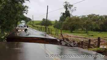 Fake News: Nenhuma ponte caiu no trecho entre Borda da Mata e Pouso Alegre - Observatório de Ouro Fino
