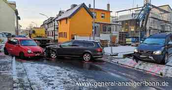 Fahrzeuge kollidierten in Alfter: Zwei Verletzte nach Unfall in Volmershoven - General-Anzeiger