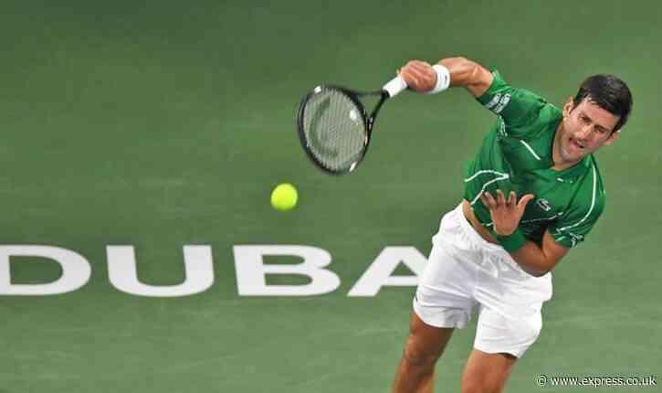 Novak Djokovic vs Philipp Kohlschreiber LIVE stream: How to watch Dubai Championships - Express