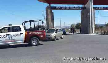 Comando asalta pórtico de seguridad de Acajete y desarman a policía - Municipios Puebla