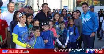 Invierten 26 mdp en la Unidad Deportiva Adolfo Ruiz Cortines de Victoria - Hoy Tamaulipas