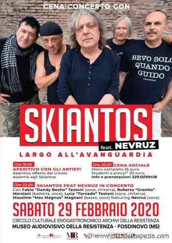 A Fosdinovo arrivano i mitici Skiantos - Città della Spezia
